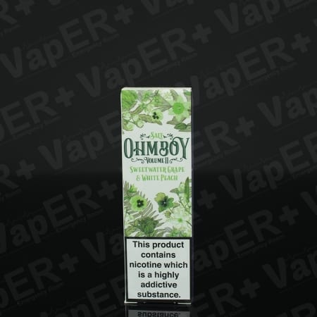 Picture of Sweetwater Grape and White Peach E-Liquid By Ohm Boy Salts