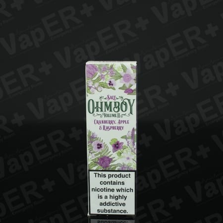 Picture of Cranberry, Apple and Raspberry E-Liquid By Ohm Boy Salts