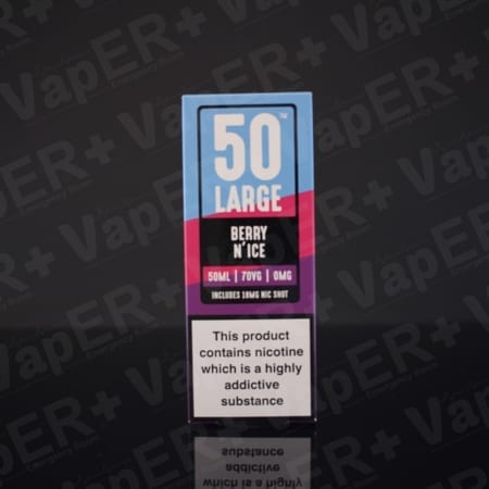 Picture of Berry N'ice E-Liquid By 50 Large