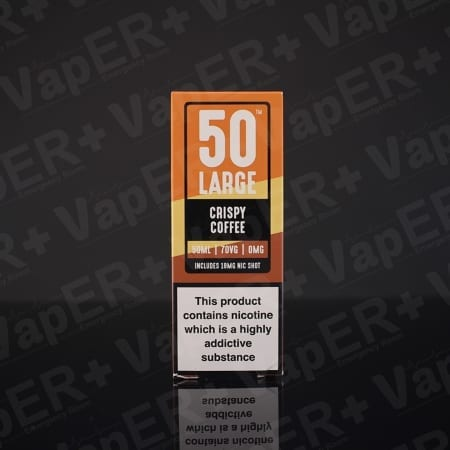 Picture of Crispy Coffee E-Liquid By 50 Large