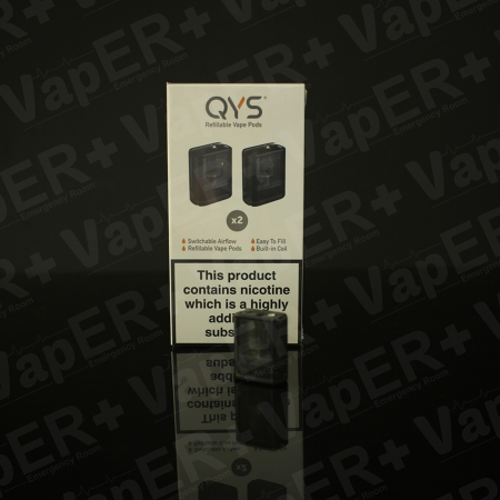 Picture of QYS Vape Kit Replacement Pods