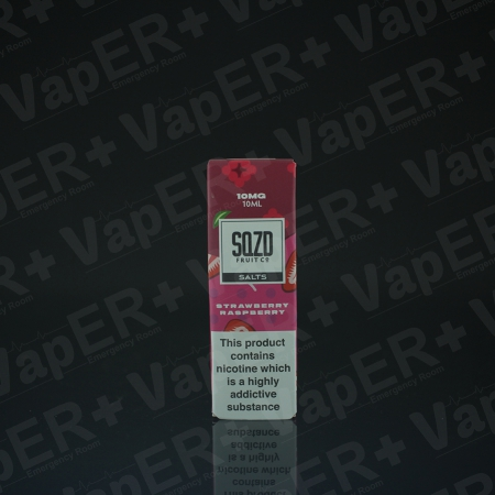 Picture of Strawberry Raspberry Nic Salt E-Liquid by SQZD Fruit Co.