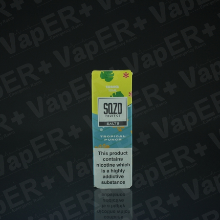 Picture of Tropical Punch Nic Salt E-Liquid by SQZD Fruit Co.